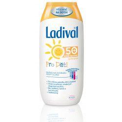 STADA PHARMA CZ LADIVAL OF50+ mléko pro děti 200ml