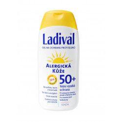 STADA OTC LADIVAL OF50+ gel alergická kůže 200ml