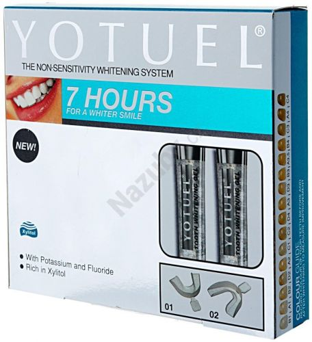 BIOCOSMETICS Yotuel startovní set pro domácí bělení 7HOURS