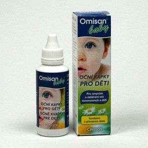 Omisan Farmaceutical OMISAN Baby Oční kapky pro děti 50ml