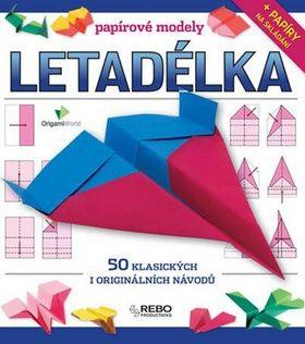 Dean Mackey: Letadélka - papírové modely cena od 265 Kč
