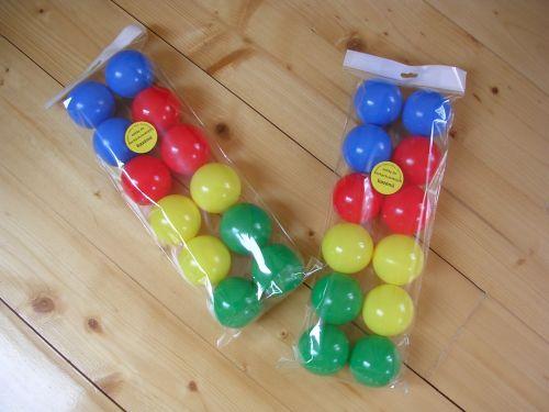 Říha Sada míčků suché, mokré bazény hraní 12 ks cena od 61 Kč