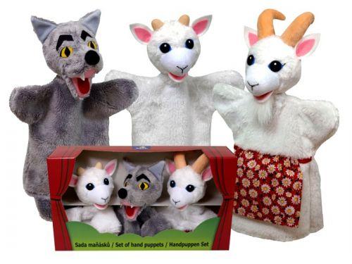 MÚ BRNO Krabička maňásků - Vlk a kůzlátka cena od 637 Kč