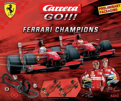 CARRERA Ferrari Champions