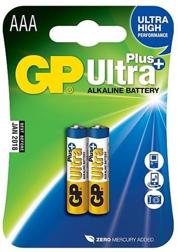 GP BATERIE Alkalická baterie GP Ultra Plus 2x AA
