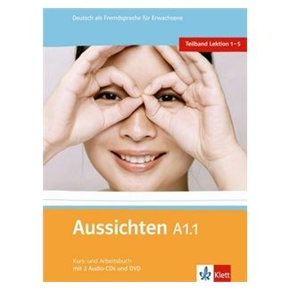 Hosni a  L. Ros-El: Aussichten A1.1 Kurs-und Arbeitsbuch + CD + DVD cena od 304 Kč