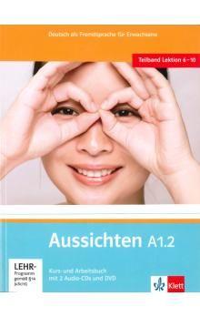 Hosni a L. Ros-El: Aussichten A1.2 Kurs-und Arbeitsbuch + CD + DVD cena od 272 Kč