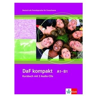 Sander a I.: DaF Kompakt A1-B1 Kursbuch + 3CD cena od 522 Kč