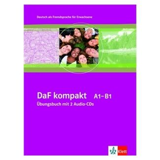 Sander a I.: DaF Kompakt A1-B1 Ubungsbuch + 2CD cena od 428 Kč