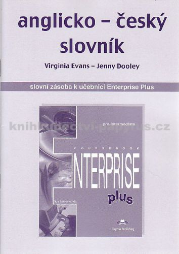 Anglicko-český slovník k učebnici Enterprise Plus cena od 20 Kč