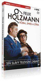 DVD Síň Slávy - Felix Holzmann - Včera dnes a zítra - 3 DVD
