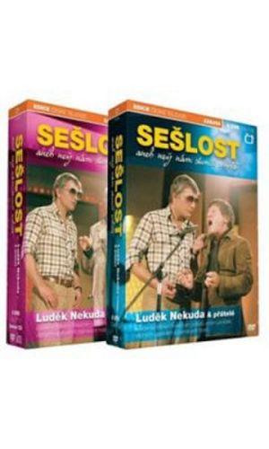DVD Luděk Nekuda - Sešlost - 11 DVD
