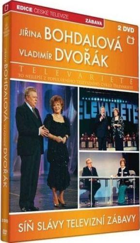 DVD Síň Slávy - Televarieté (Bohdalová, Dvořák) - 2 DVD