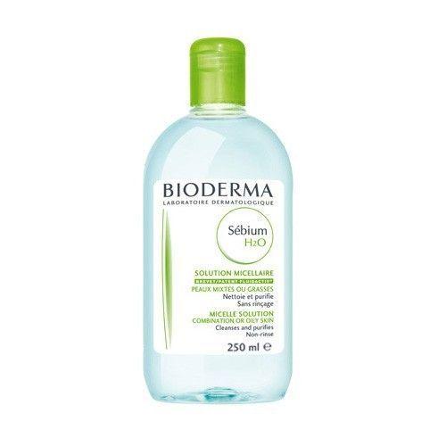 Bioderma Čisticí pleťová voda pro mastnou pleť Sebium H2O (Solution Micellaire) 500 ml