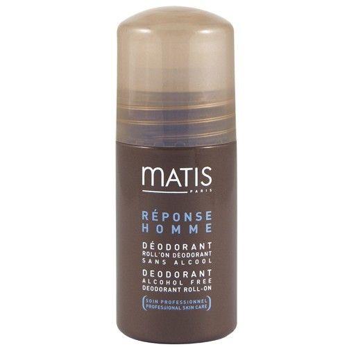 Matis Paris Roll on deodorant bez alkoholu pro muže Réponse Homme (Alcohol Free Deodorant Roll On) 50 ml