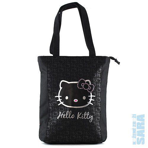 Alltoys CZ Nákupní taška Hello Kitty černá cena od 0 Kč