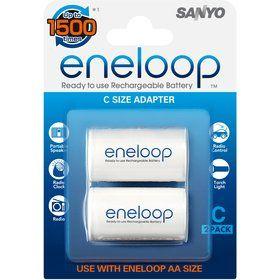 Sanyo redukce baterie AA R06 na D R20 velký mono (2pack)