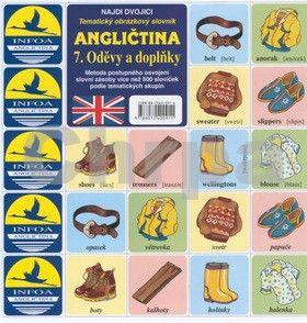 Antonín Šplíchal: Najdi dvojici - Angličtina - 7. Oděvy a doplňky cena od 24 Kč