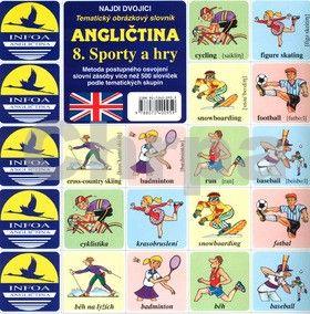 Antonín Šplíchal: Angličtina 8. Sporty a hry cena od 24 Kč