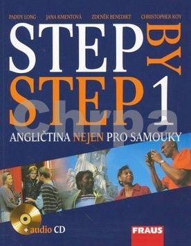 Paddy Long: Step by step 1 - kniha + audio CD cena od 243 Kč