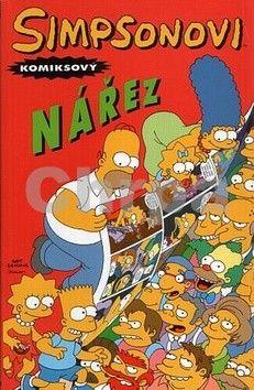 Matt Groening: Simpsonovi: Komiksový nářez cena od 195 Kč