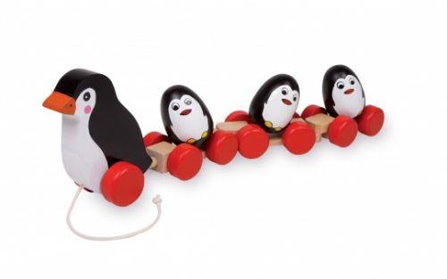 ALEXTOYS Tahací hračka Tučňáci cena od 357 Kč