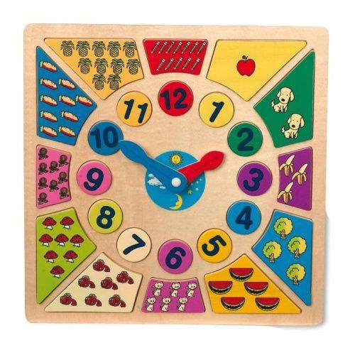 ALEXTOYS Didaktická hračka - Nauč se čas cena od 195 Kč