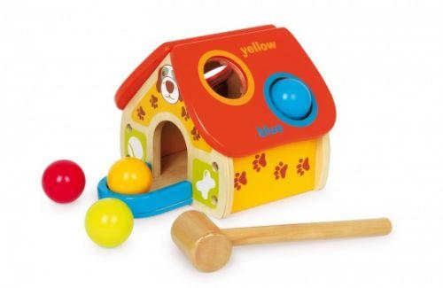 ALEXTOYS Zatloukací hračka - Domeček