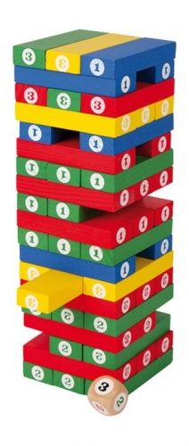 ALEXTOYS Věž čísel cena od 269 Kč
