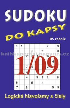 TELPRES Sudoku do kapsy 1/09 cena od 25 Kč