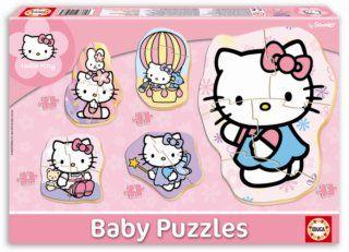 Educa Puzzle pro nejmenší Hello Kitty, pět motivů, 3,4,5