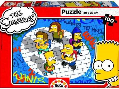 XXL obrazek Educa Puzzle The Simpsons 100d