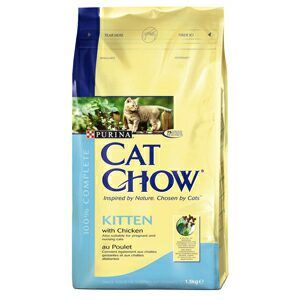 Purina Cat Chow Kitten 1,5 kg cena od 132 Kč