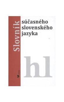 Alexandra Jarošová, Klára Buzássyová: Slovník súčasného slovenského jazyka hl cena od 656 Kč