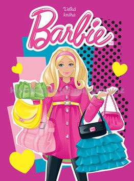 EGMONT Barbie Velká kniha zábavy cena od 201 Kč
