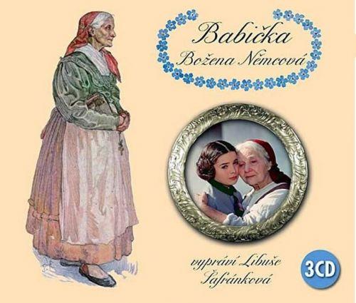Božena Němcová: Babička - 3CD (čte Libuše Šafránková) cena od 165 Kč