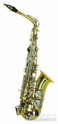 DIMAVERY SP-30 Eb Altsaxophon, zlatá