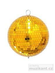 EUROLITE Zrcadlová koule 20 cm, zlatá