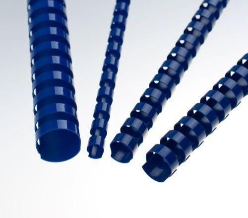 FELLOWES Plastový hřbet 12,5 mm, modrý