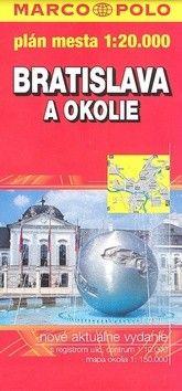 Marco Polo Bratislava a okolie 1:20 000 cena od 107 Kč