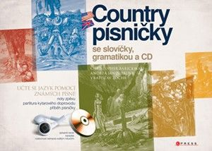 Christopher Barickman: Country písničky se slovíčky, gramatikou a CD cena od 128 Kč
