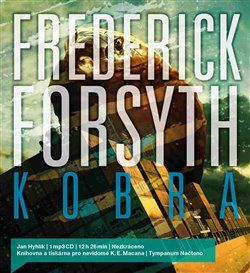 Frederick Forsyth: Kobra cena od 173 Kč