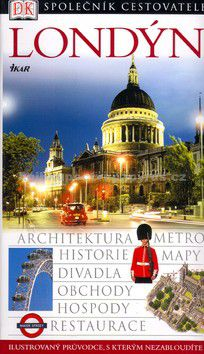 IKAR Londýn Společník cestovatele cena od 0 Kč