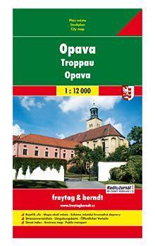 Freytag-Berndt Opava Plán města 1:12 000 cena od 60 Kč