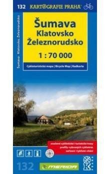 Kartografie PRAHA Šumava Klatovsko cena od 59 Kč