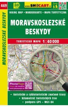 SHOCART Moravskoslezské Beskydy 1:40 000 cena od 86 Kč