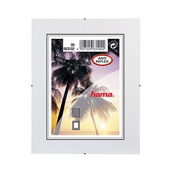 HAMA Clip-Fix, antireflexní sklo, 21x29,7cm