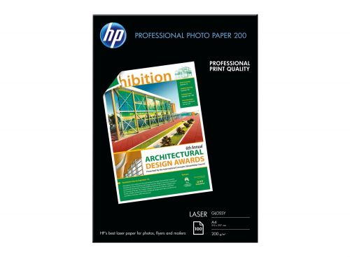 HP Professional Laser Photo Paper, Glossy