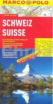 Schweiz Suisse 1:303 000 cena od 178 Kč