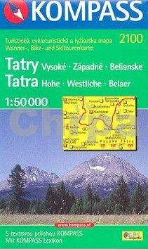 Marco Polo Tatry Vysoké, Západné, Belianské 1:50 000 cena od 112 Kč